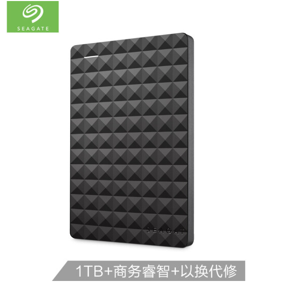 希捷(Seagate)1TB USB3.0移动硬盘 Expansion 睿翼 2.5如何下载伟德ios版黑钻版 商务时尚 便携 经典黑 (STEA1000400)
