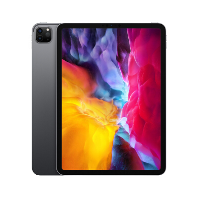 Apple iPad Pro 11如何下载伟德ios版平板电脑 2020年新款(128G WLAN版/全面屏/A12Z/Face ID/MY232CH/A) 黑/银