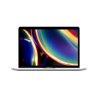 Apple 2020新款 MacBook Pro 13.3【带触控栏】八代i5 8G 256G 1.4GHz 银色 笔记本电脑 轻薄本 MXK62CH/A