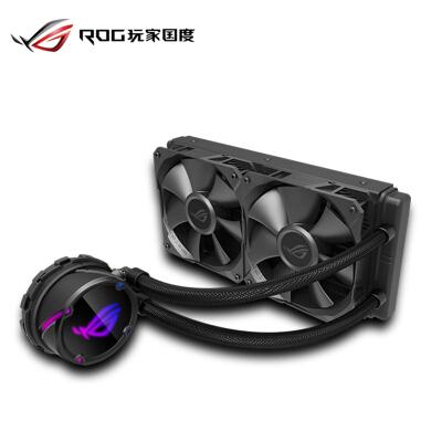 华硕 (ASUS)ROG Strix 飞龙240 飞龙系列一体式CPU水冷散热器 RGB神光同步灯效【 静音/240mm冷排】