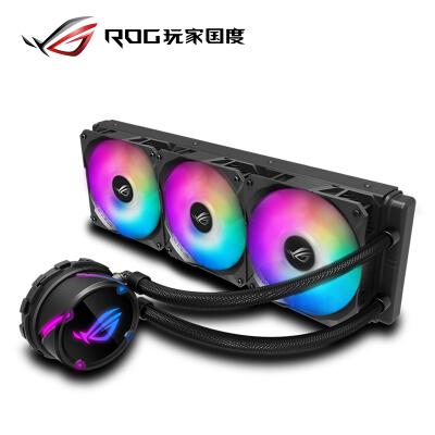 华硕(ASUS)ROG STRIX LC 360 RGB飞龙系列一体式CPU水冷散热器 RGB版【 静音/360mm冷排】