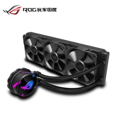 华硕 (ASUS)ROG STRIX LC飞龙360一体式CPU水冷散热器 RGB神光同步灯效【 静音/360mm冷排/全平台】