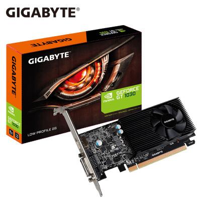 技嘉(GIGABYTE)GV-N1030D5-2GL 显卡mini迷你刀卡小机箱 GT1030