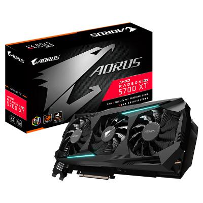 技嘉(GIGABYTE)Radeon RX 5700 XT AORUS 8G旗舰级游戏显卡大型单机
