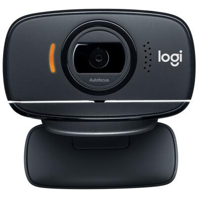 罗技(Logitech) B525 高清网络摄像头 笔记本台式电脑视频摄像头 可旋转折叠 B525