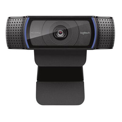 罗技(Logitech)  C920 主播推荐摄像头 高颜值 美颜摄像头 电脑摄像头