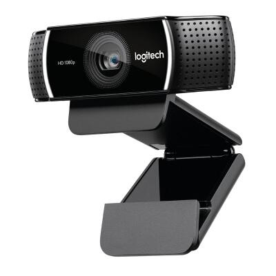 罗技(Logitech) C922 PRO高清直播主播摄像头美颜台式电脑网络摄像头 C922高清网络摄像头