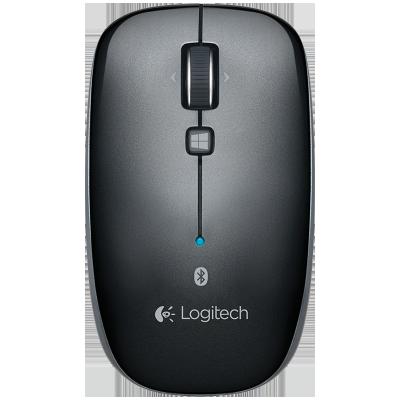罗技(Logitech)M557 鼠标 无线蓝牙鼠标 办公鼠标 对称鼠标 黑色