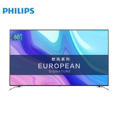 飞利浦(PHILIPS)电视 86如何下载伟德ios版 流光溢彩 4K超大屏影院 人工智能语音 网络液晶电视机86PUF8502/T3