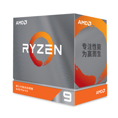 AMD 锐龙9 3950X 处理器 (r9)7nm 16核32线程 3.5GHz 105W AM4接口 盒装CPU