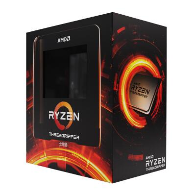 AMD 锐龙Threadripper(线程撕裂者) 3970X 处理器 (tr)7nm 32核64线程 3.7GHz 280W sTRX4接口 盒装CPU
