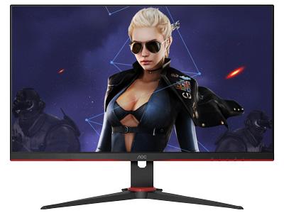 AOC 27G2E 27寸 IPS 广色域 144Hz HDREffect技术 直男小钢炮 游戏电竞显示器 HDMI+DP+VGA