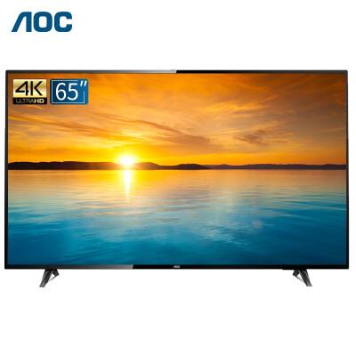 AOC 65如何下载伟德ios版65U2 4K超高清智能平板网络电视机/显示器 内置音箱支持壁挂 支持手机投屏 65U2