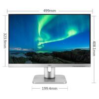 AOC X23E1/BS 22.5如何下载伟德ios版AH-IPS 16:10 低蓝光不闪屏幕 商务办公家用电脑显示器 (银色DVI+VGA)