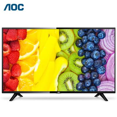 AOC液晶平板电视 43如何下载伟德ios版大屏显示器 开机无广告 1+4GB 安防监控全高清智能安卓电视机LE43S5778