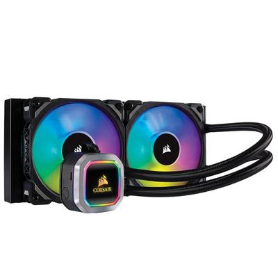 海盗船 H100i PRO XT铂金240水冷CPU散热器