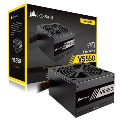 美商海盗船 (USCORSAIR) 额定550W VS550 台式机电脑电源