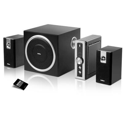 漫步者(EDIFIER) C2 2.1声道+独立功放 多媒体音箱 音响 电脑音箱 黑色