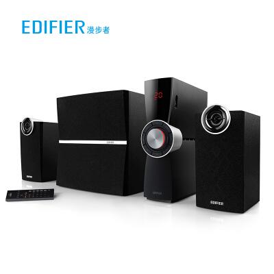 漫步者(EDIFIER)C2XB 外置功放 2.1多媒体蓝牙音箱 音响 电脑音箱 黑色