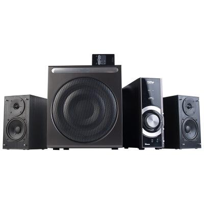 漫步者(EDIFIER) C3 2.1声道+独立功放 多媒体音箱 音响 电脑音箱 黑色