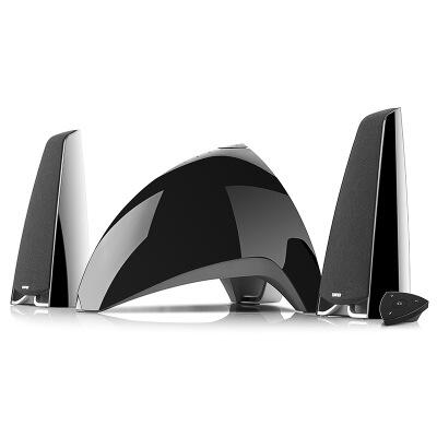 漫步者(EDIFIER) E3360BT 时尚全功能多媒体音箱 蓝牙音响 电脑音箱 黑色/白色