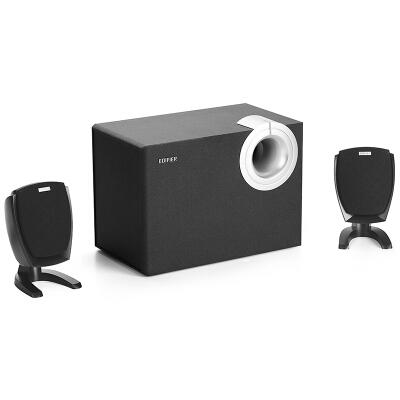 漫步者(EDIFIER) R201T06 2.1声道 多媒体音箱 音响 电脑音箱 黑色