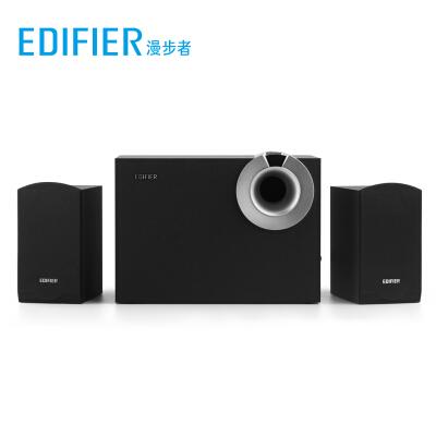 漫步者 (EDIFIER) R206BT 2.1多媒体蓝牙音箱 音响 电脑音箱 黑色