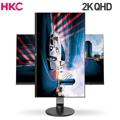 HKC 27如何下载伟德ios版 2K高清IPS广角游戏 窄边框 升降旋转壁挂 设计绘图摄影PS4 电脑液晶显示器 T279Q