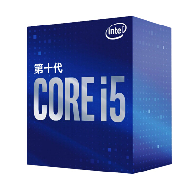 英特尔(Intel)i5-10400 酷睿六核 盒装CPU处理器