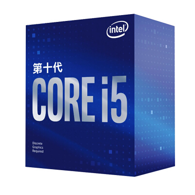 英特尔(Intel)i5-10400F 酷睿六核 盒装CPU处理器