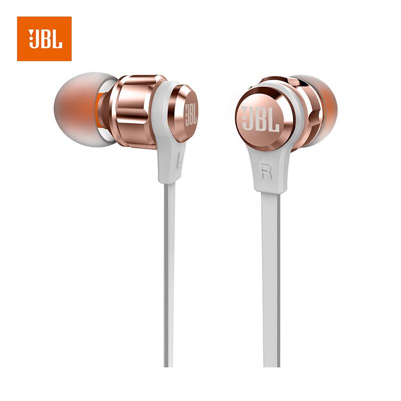 JBL T180A 立体声入耳式伟德国际bv 耳麦 运动伟德国际bv 带麦可通话 游戏伟德国际bv