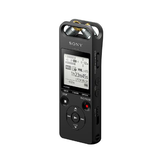 索尼(SONY)ICD-SX2000 Hi-Res 高解析度立体声数码录音棒/录音笔 三向麦克风 16GB大容量(黑)