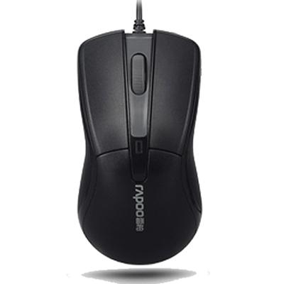 Rapoo雷柏N1162有线鼠标电脑笔记本USB 办公游戏吃鸡家用