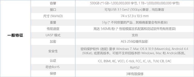 三星(SAMSUNG) 500GB Type-c USB3.1 移动硬盘 固态(PSSD)T5 珊瑚蓝 最大传输速度540MB/s 安全便携