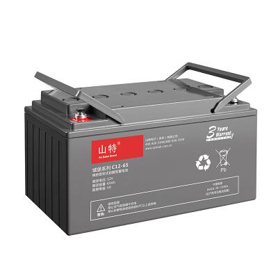 山特(SANTAK)C12-65 山特UPS电源电池免维护铅酸蓄电池 12V65AH