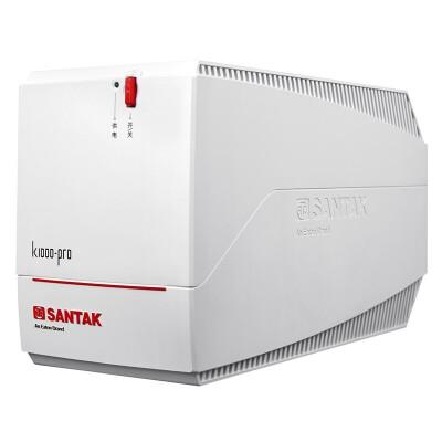 山特(SANTAK)K1000-Pro 600W断电自动续航稳压防浪涌不间断电源 稳压后备式UPS