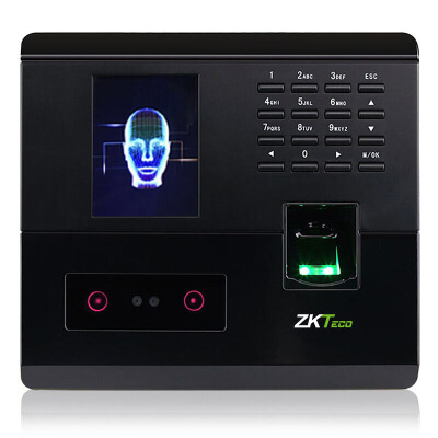 ZKTeco UF200 人脸指纹识别考勤机 免软件打卡机 U盘自动下载报表